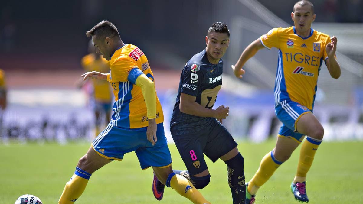 Liga MX: Ve en vivo Tigres vs Pumas en los Cuartos de Final del Apertura 2018