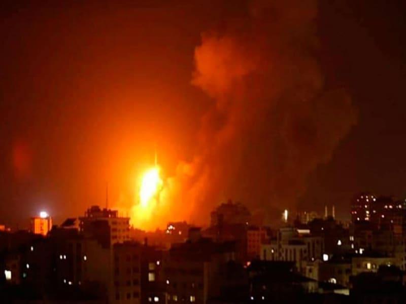 Nuevo ataque en Gaza, fueron 200 misiles.