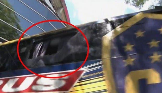 Reciben con gas lacrimógeno al Boca Juniors