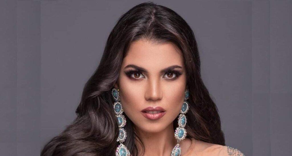 Ella es Andrea Díaz nació y creció en Valencia, Venezuela, proximamente representará a Chile en Miss Universo.