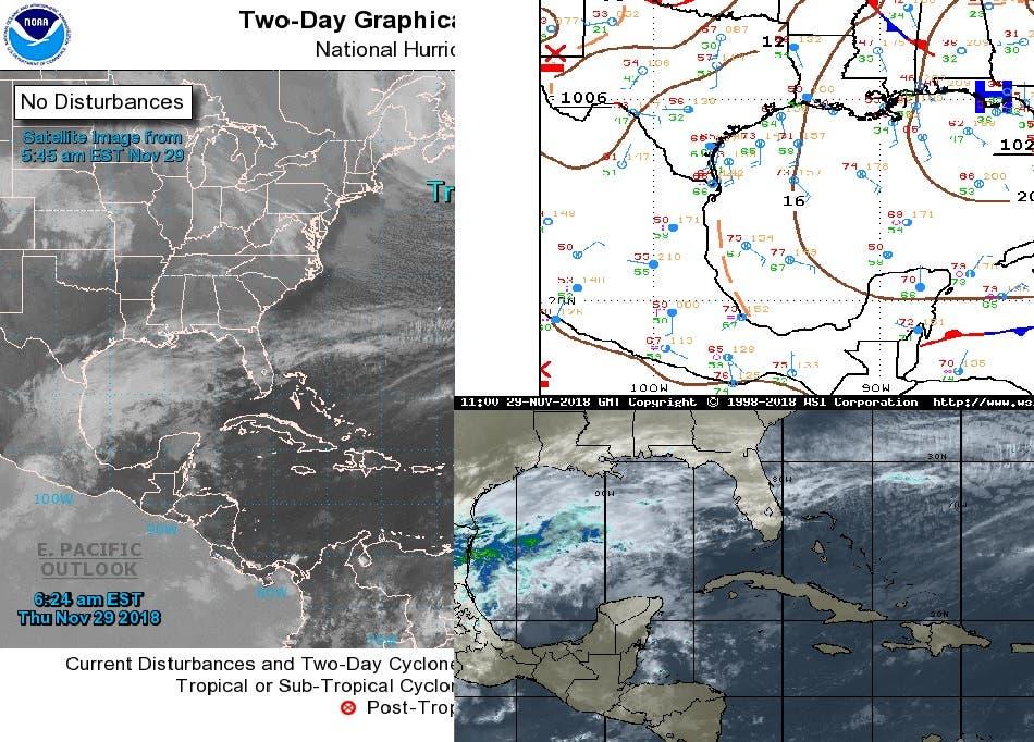 Pronostican tormentas para Quintana Roo