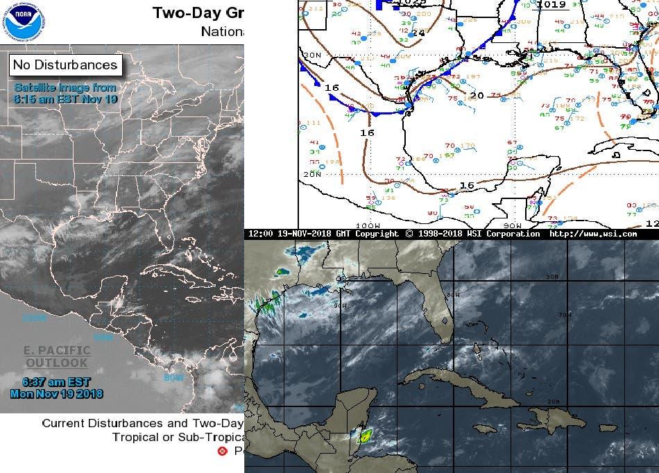 Frente frío provocará lluvias en Quintana Roo