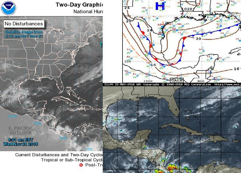 Se esperan lluvias en Quintana Roo