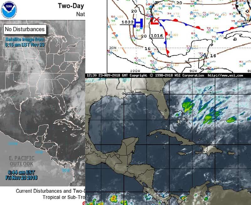 Clima para este viernes en Quintana Roo