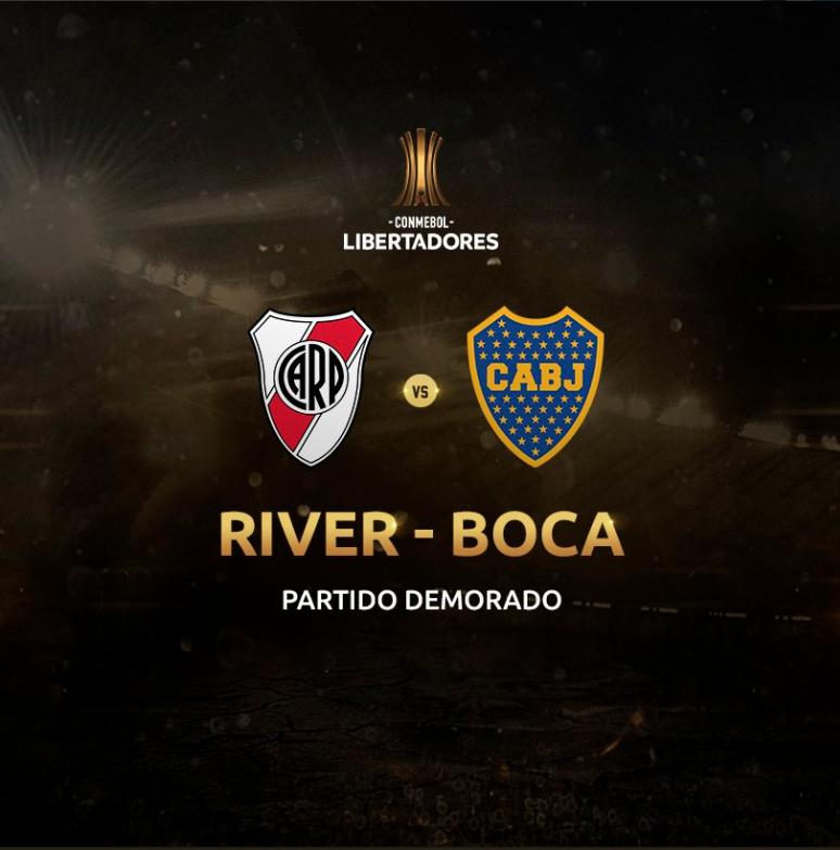 ¡Es oficial! Posponen el partido entre River y Boca