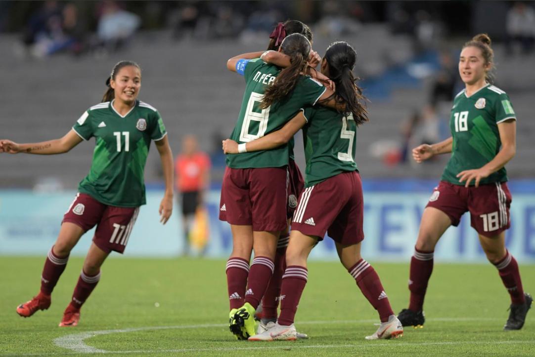 México Femenil Sub-17 accede a la Final del Mundial Uruguay 2018