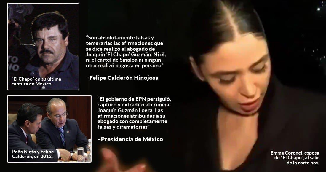 Creció El Chapo al amparo de Peña Nieto, Calderón y Fox