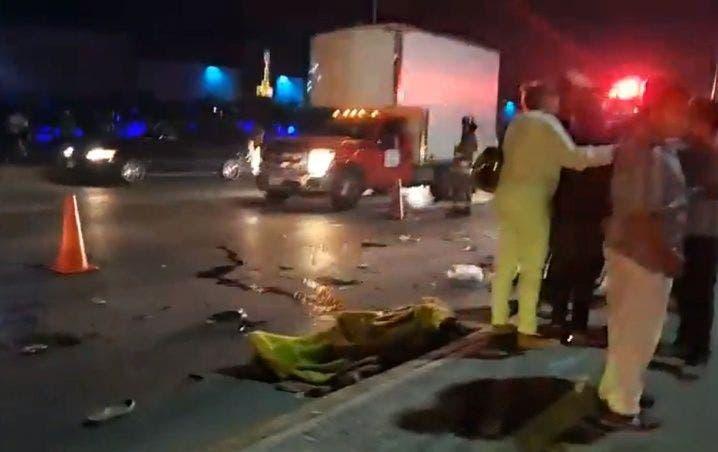 Muere atropellado vendedor de chicles en Cancún