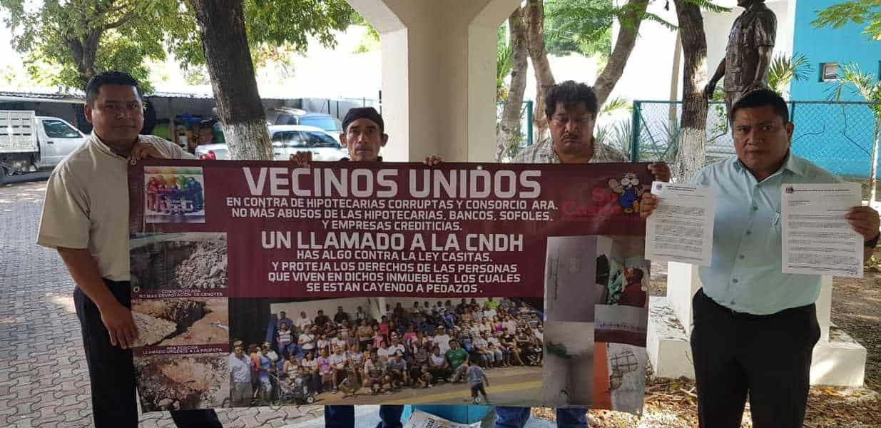 Piden frenar desalojo de 600 familias en Solidaridad