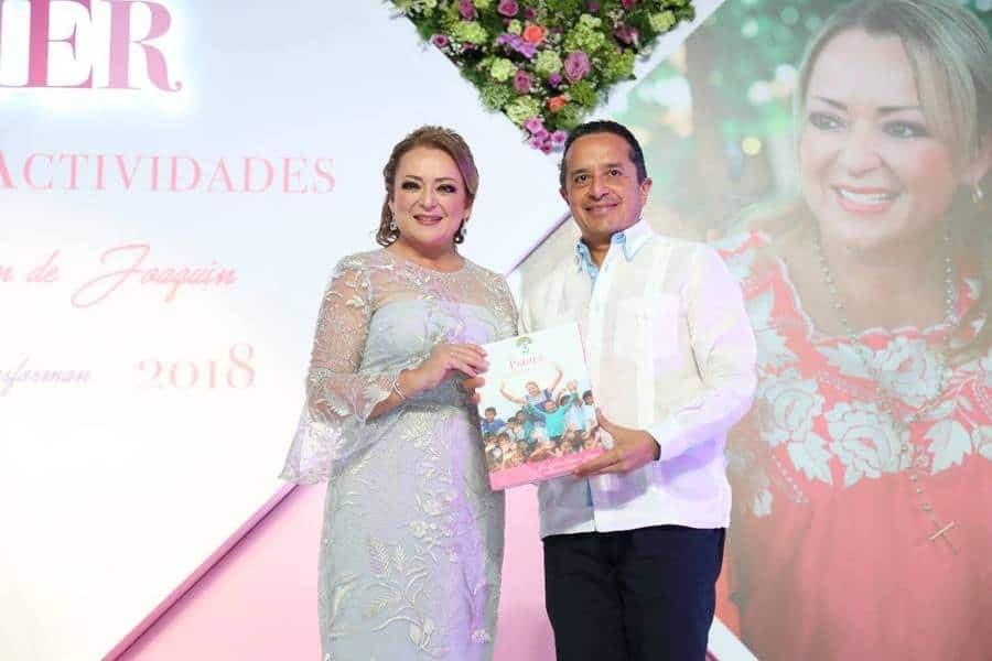 DIF Quintana Roo al servicio de las familias: Gaby Rejón