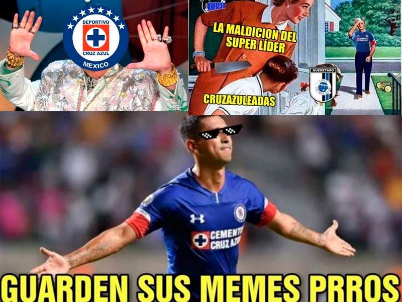 Ríete con los mejores memes de la victoria del Cruz Azul ante Querétaro