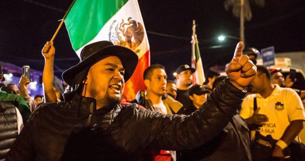 Tensión y odio generó la llegada de los migrantes centroamericanos a Tijuana.