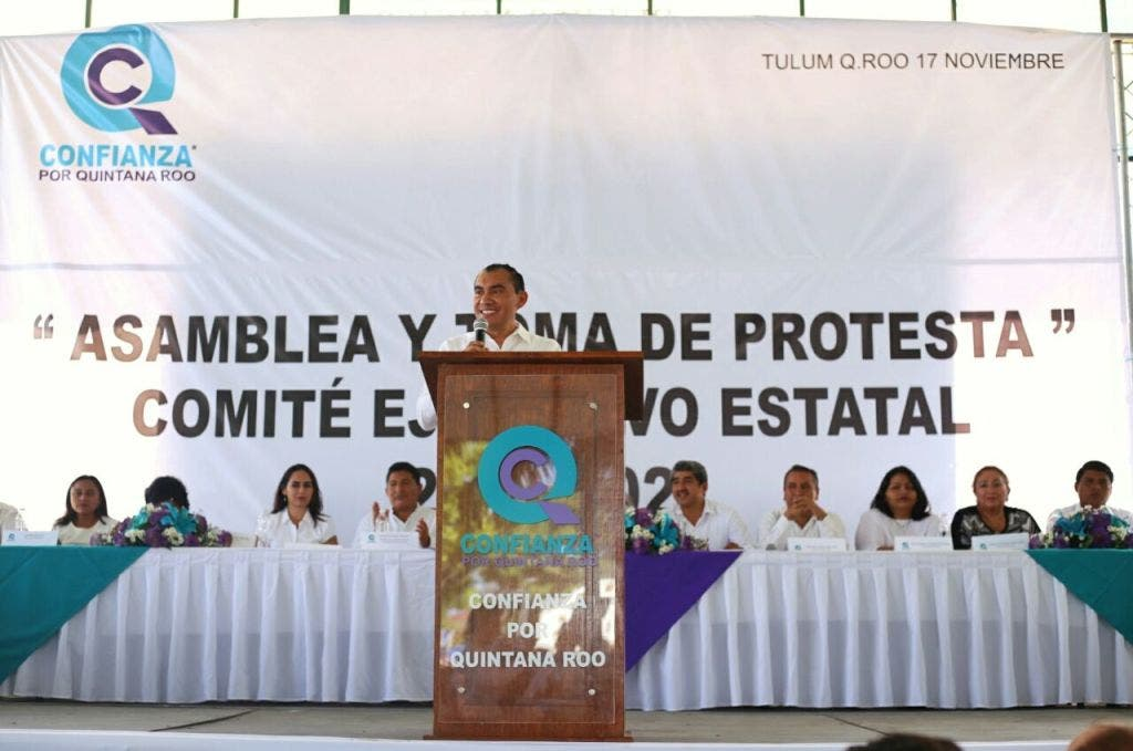 Confianza por Quintana Roo estrena nuevos dirigentes