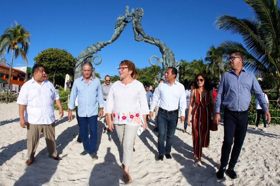 Hablaré sobre el Mando Único con Obrador: Laura Beristain