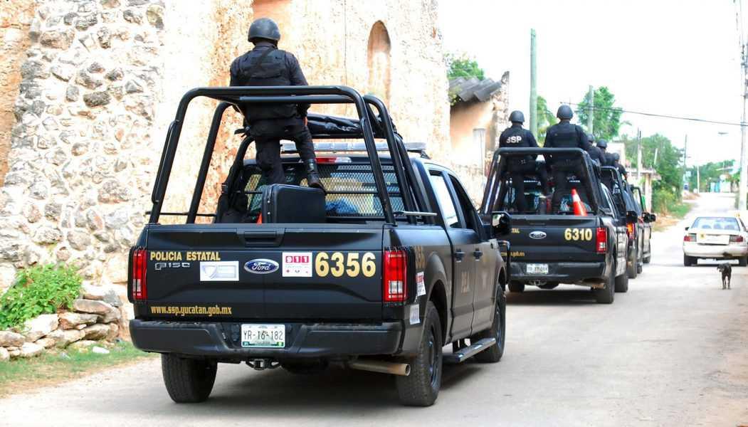 Detienen a banda de presuntos ladrones en Yucatán