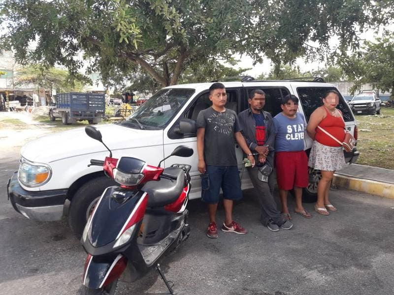Cae banda de robacajeros en Playa del Carmen