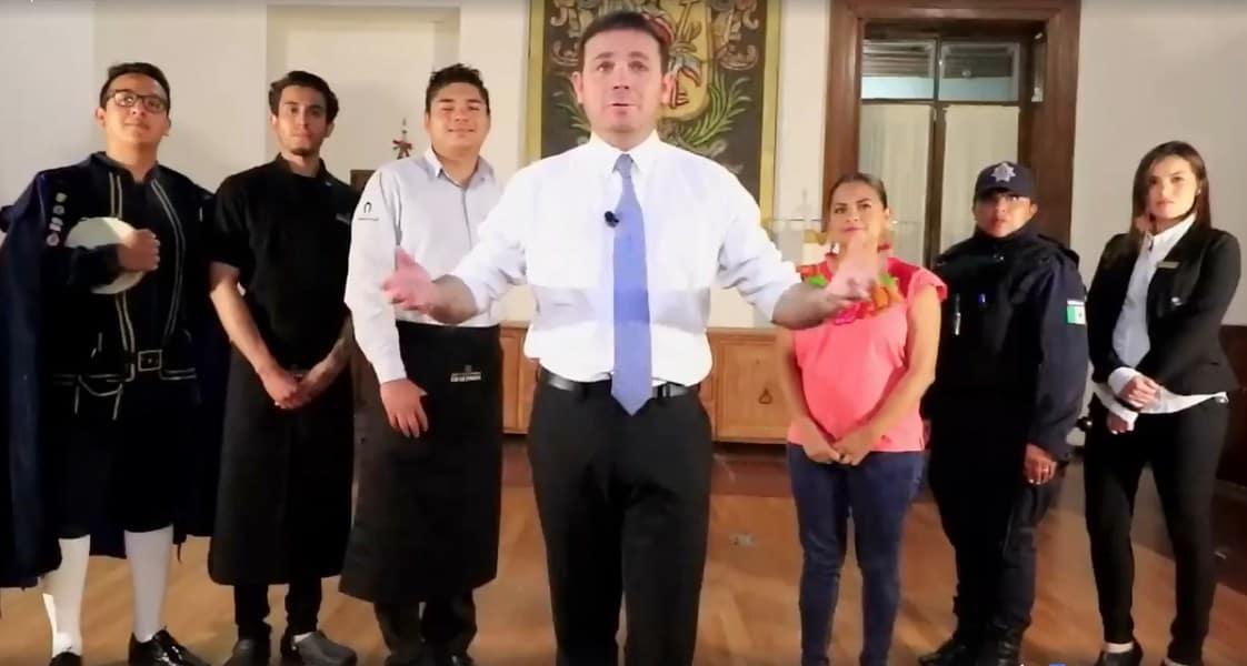 """Video: Se queja alcalde de Guanajuato de turismo """"pobre"""" y recula"""