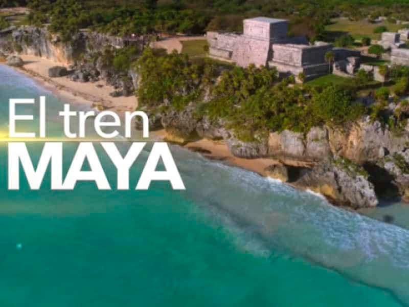 AMLO promueve los beneficios del Tren Maya