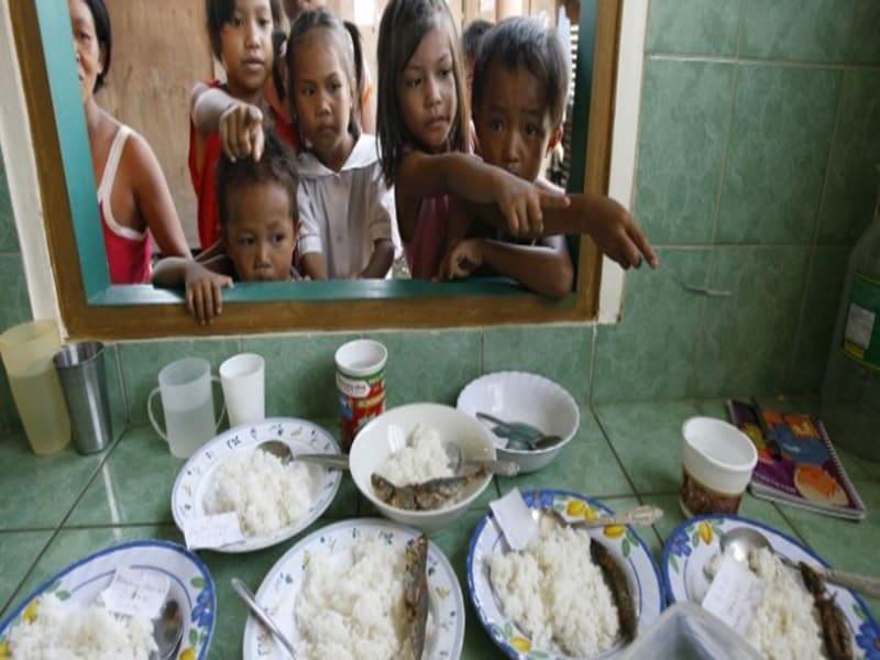 El hambre los aleja de una vida saludable