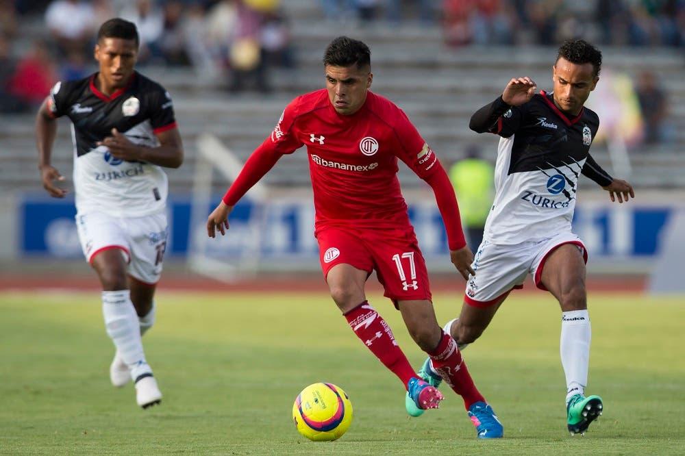 Liga MX: Ve en vivo y en directo Lobos BUAP vs Toluca