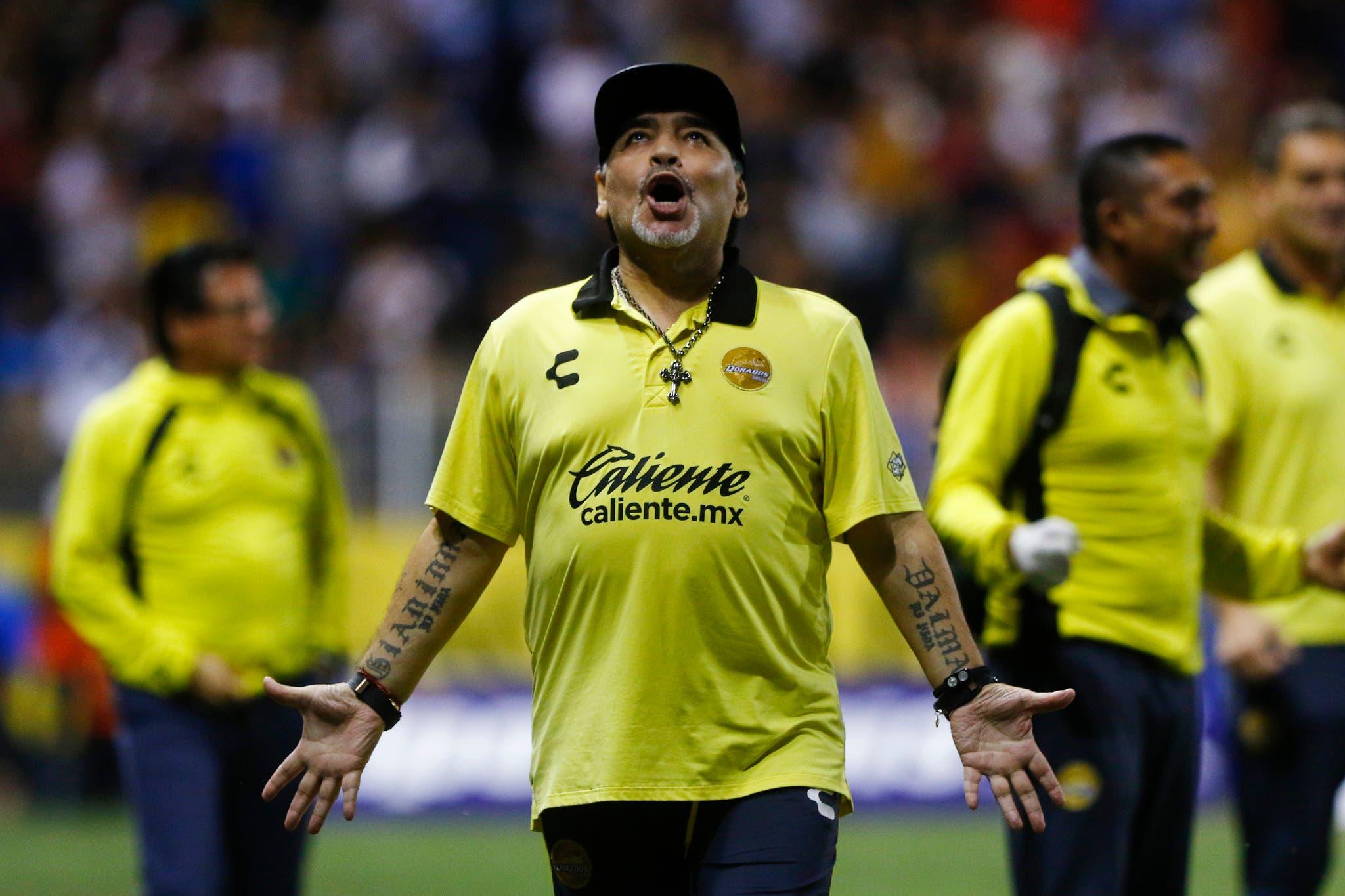 Maradona se perderá la Final del Ascenso MX