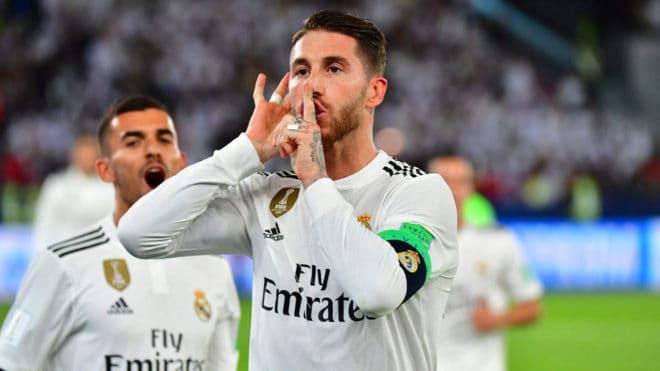 Mundial de Clubes: ¿Polémico festejo de Sergio Ramos?