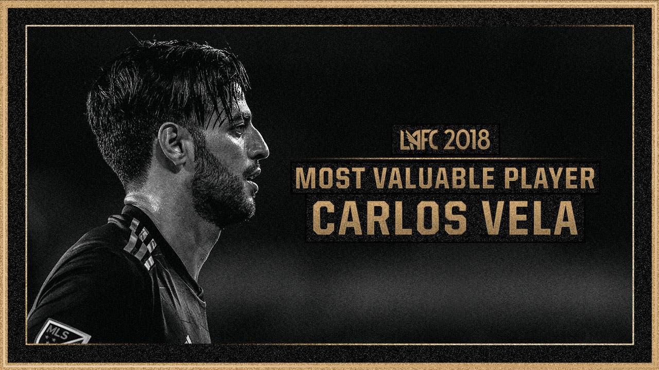 MLS: Carlos Vela elegido como el Jugador Más Valioso del LAFC