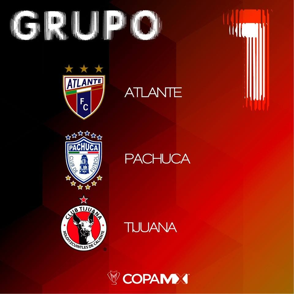 Atlante regresa a la Copa MX en el Clausura 2019