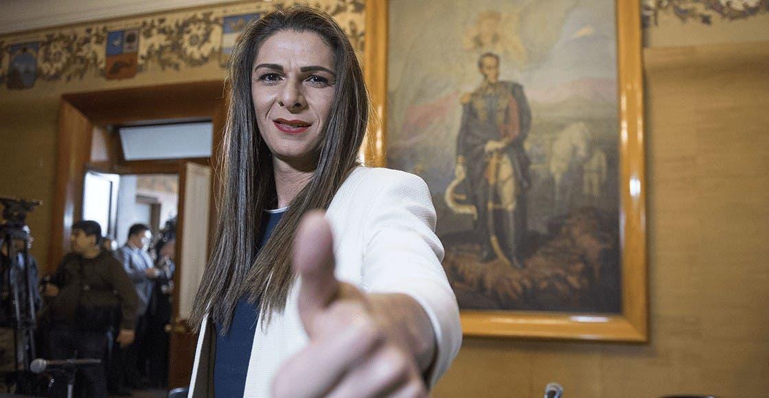 Revista francesa se disculpa con Ana Gabriela Guevara