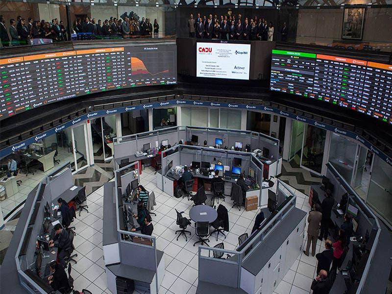La Bolsa Mexicana de Valores tiene ganancia