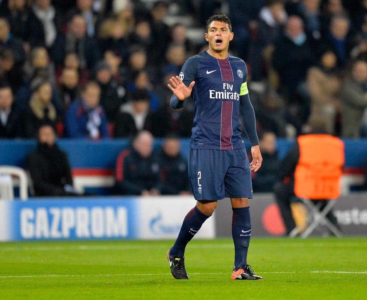 Ligue 1: Asaltan casa de Thiago Silva