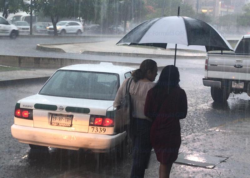 Pronostican lluvias y clima fresco para la Península de Yucatán