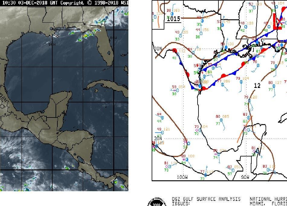 Pronostican posibles lluvias para Quintana Roo
