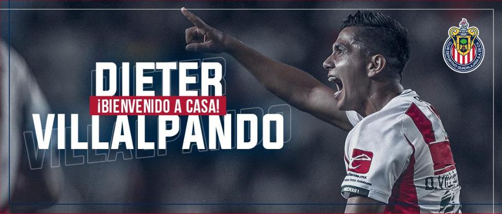 Liga MX: Dieter Villalpando es presentado como refuerzo de Chivas