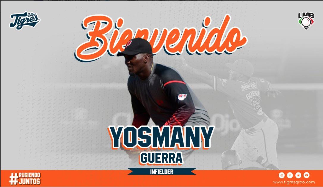 Tigres anuncia a sus primeros refuerzos: David Harris y Yosmany Guerra