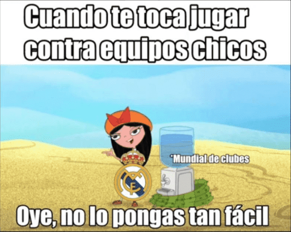 Los memes del Real Madrid Campeón del Mundial de Clubes