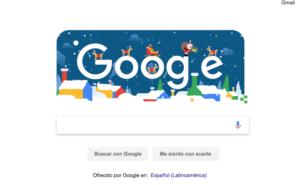 ¡Llegó el doodle de Google para celebrar Navidad!