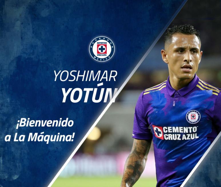 Liga MX: Cruz Azul hace oficial llegada de Yoshimar Yotún