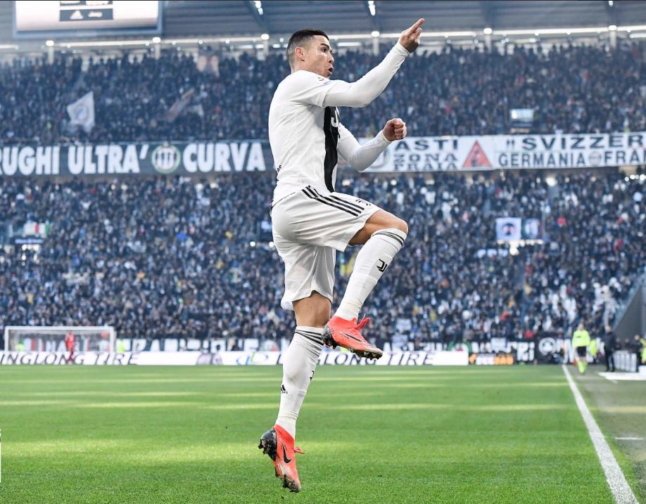 Serie A: Con goles de Cristiano Ronaldo, Juventus se impone 2-1 a Sampdoria