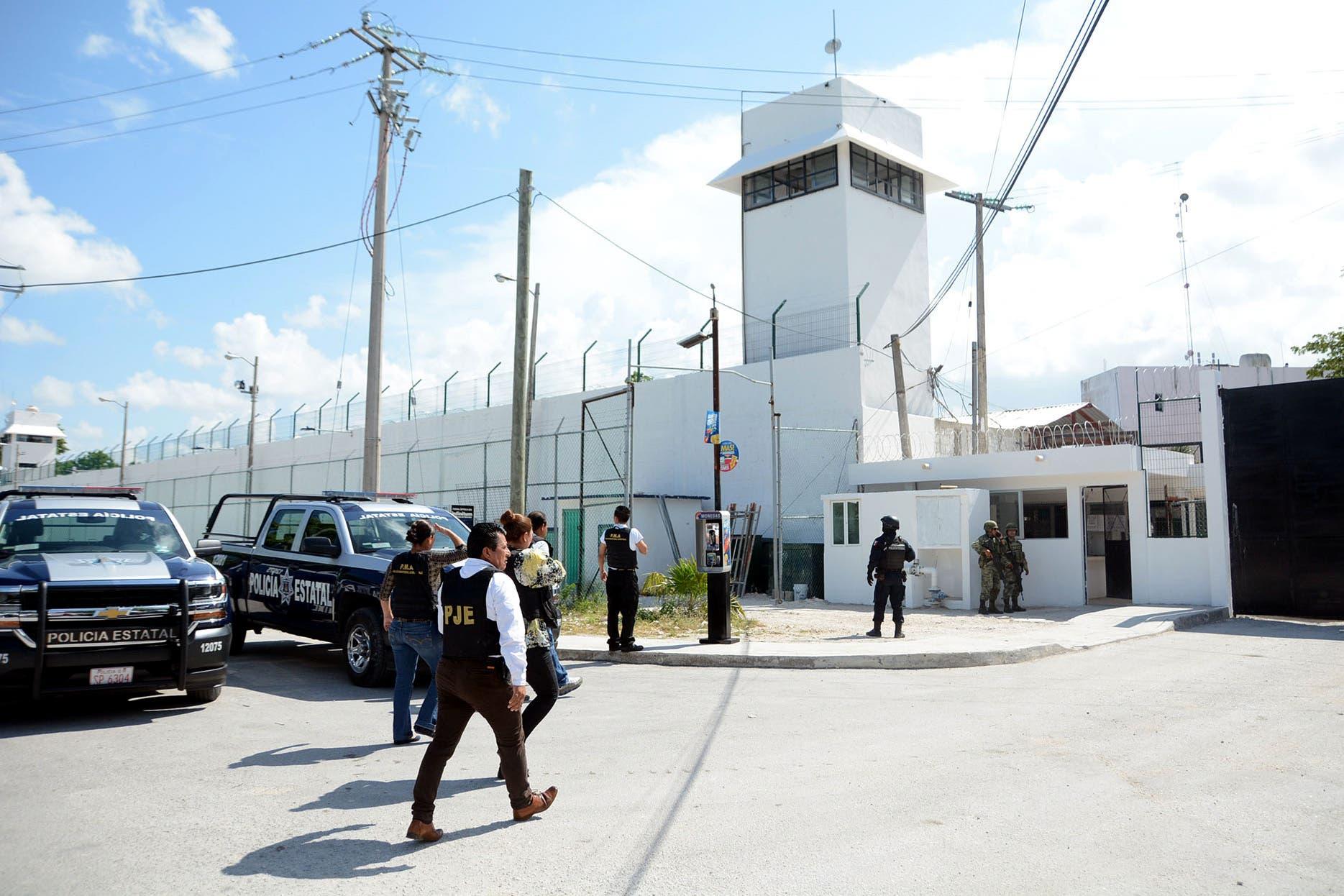 Fuga de reo en penal de Cancún