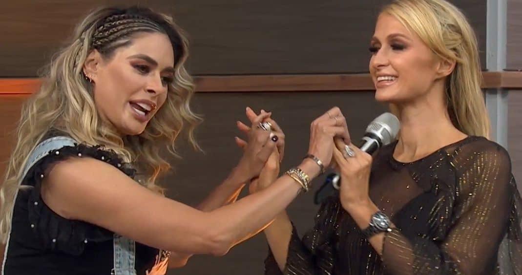 Galilea Montijo celebra que Paris Hilton se quede con anillo de su ex novio