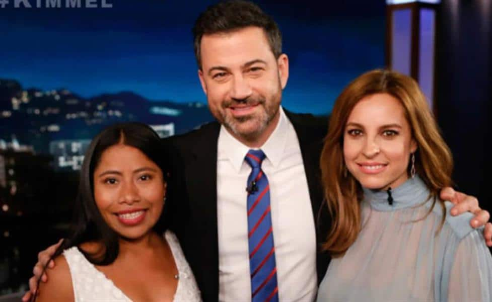 Vídeo: Jimmy Kimmel incomoda con pregunta a Yalitza Aparicio