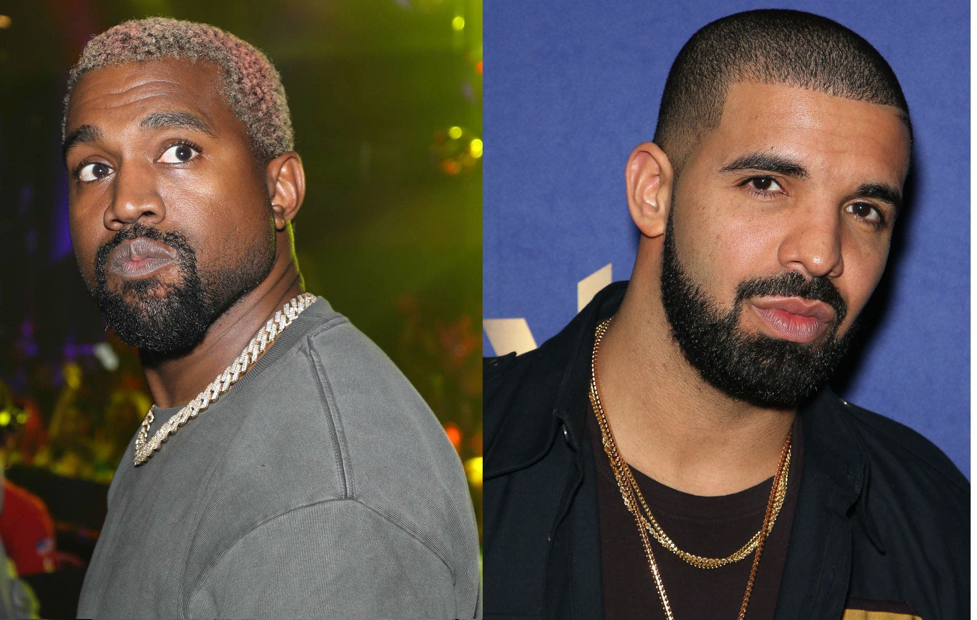Pleito entre Kanye West y Drake desata memes en redes sociales