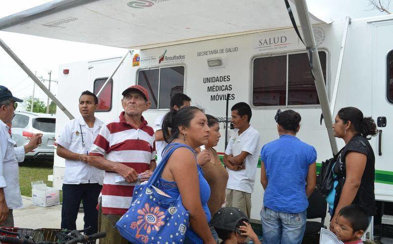 Obsoletas unidades móviles de salud en Quintana Roo