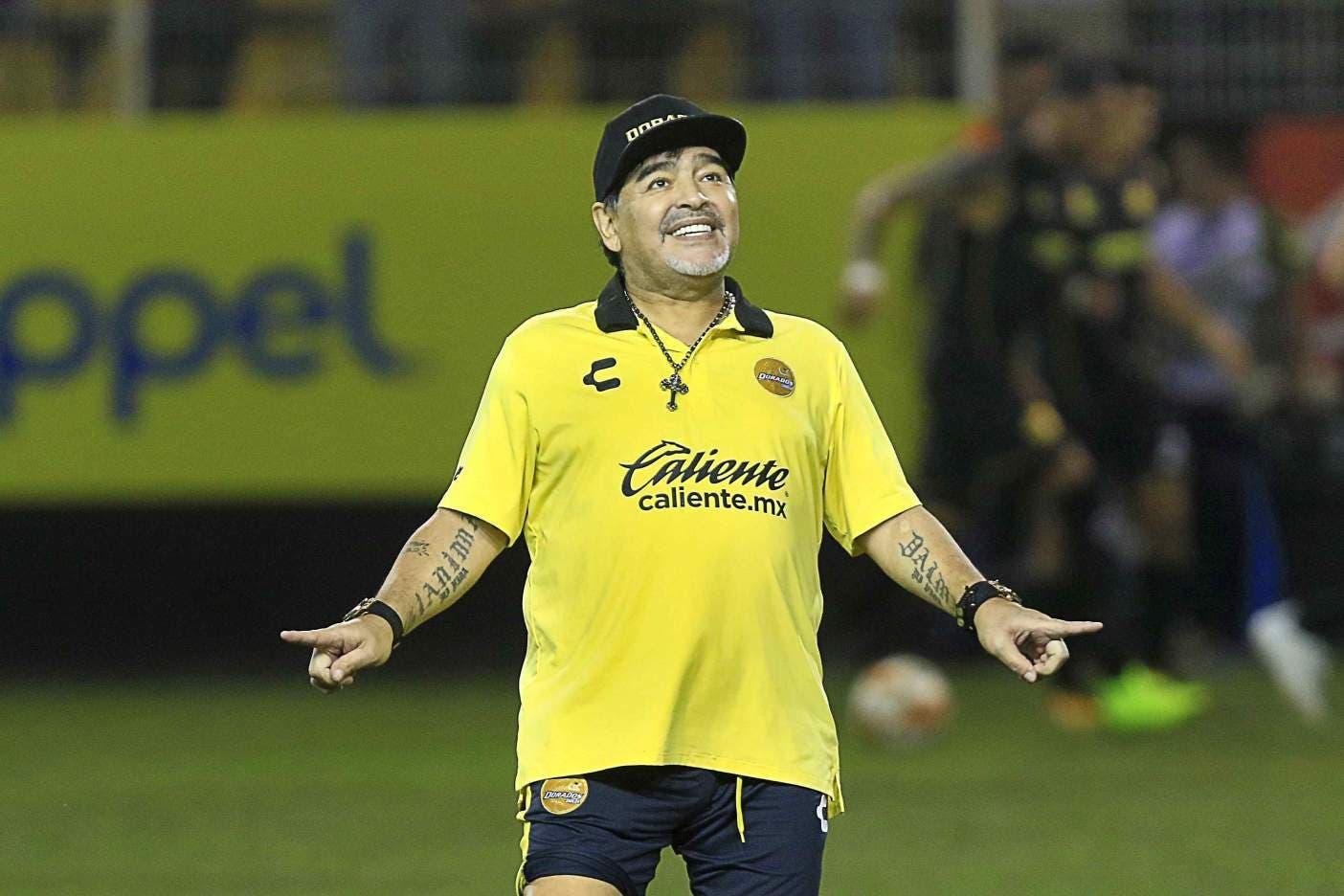 Ascenso MX: Maradona de vacaciones; reportará el 02 de enero con Dorados