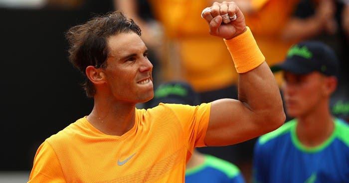 Rafael Nadal dona un millón de euros a víctimas de inundación