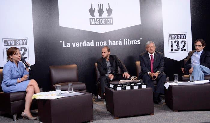 Junto a Josefina Vazquez Mota y Gabriel Quadri, en 2012. Foto: Cuartoscuro.