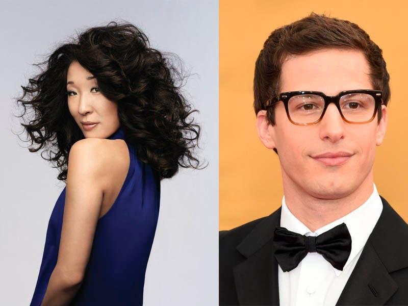 Sandra Oh y Andy Samberg serán presentadores de los Globo de Oro 2019