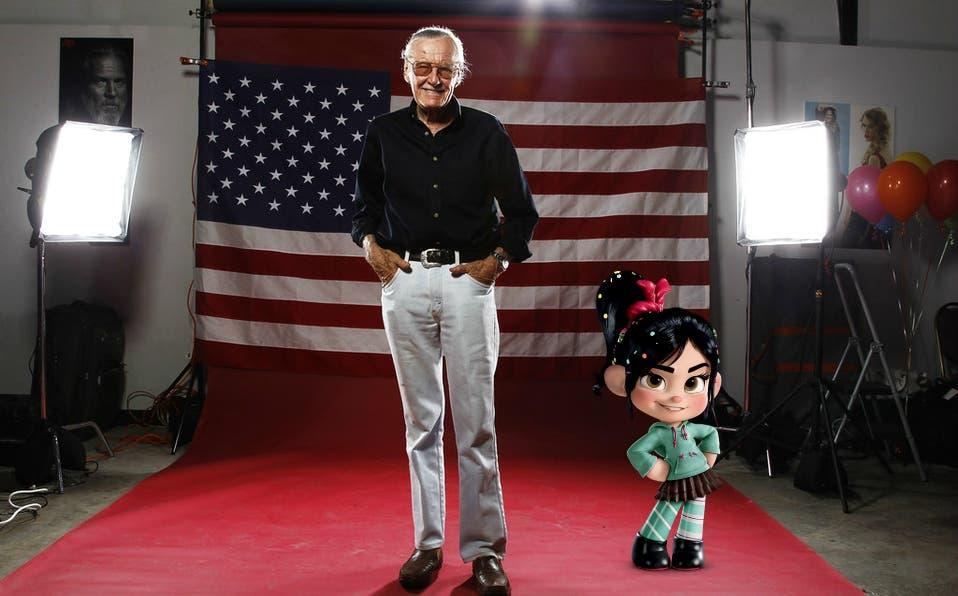 """Cameo de Stan Lee en """"Wifi Ralph"""" encanta a las redes"""