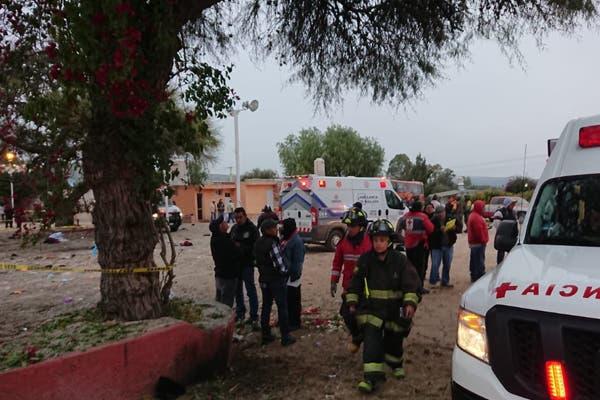 Estalla pirotecnia en Tequisquiapan, hay 3 muertos